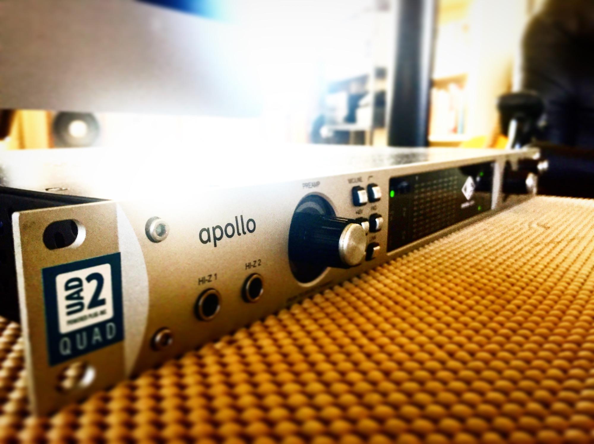 Universal Audio Apollo Interface At TwoCat Studios In Tucson