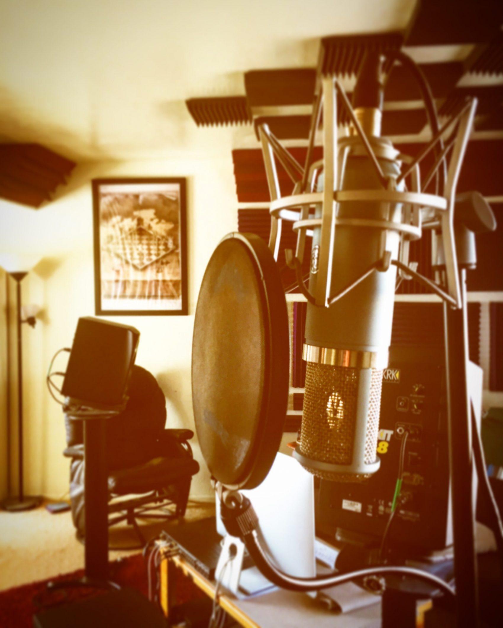 AKG Perception 820 Tube Microphone at TwoCat Studios in Tucson