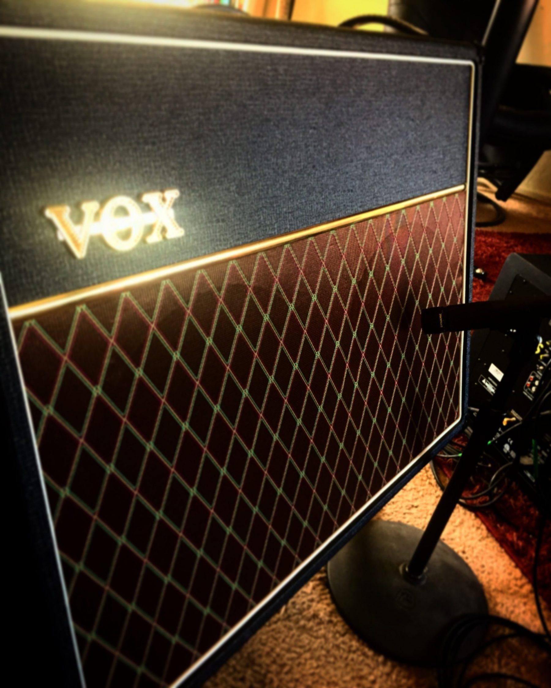Vox AC30 Amplifier At TwoCat Studios In Tucson
